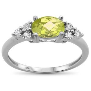 lemon and diamond ring
